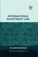 Pdf International Investment Law Telecharger