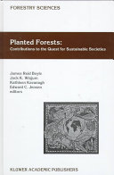 Planted Forests: Contributions to the Quest for Sustainable Societies