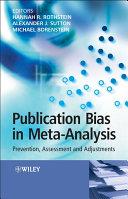 Publication Bias in Meta-Analysis