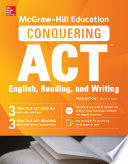 McGraw Hill Education Conquering ACT English Reading and Writing  Third Edition
