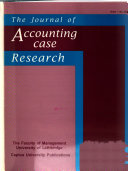 The Journal of Accounting Case Research
