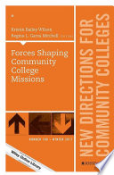 Forces Shaping Community College Missions