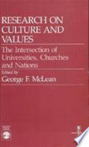 Research on Culture and Values Book PDF