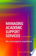 Managing Academic Support Services in Universities