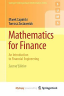 Mathematics for Finance Book