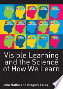 Visible Learning And The Science Of How We Learn Book PDF