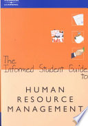 The Informed Student Guide to Human Resource Management