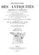 Dictionnaire des antiquités grecques et romaines