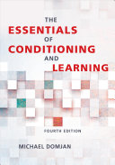 Cover of The Essentials of Conditioning and Learning