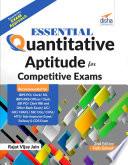 Essential Quantitative Aptitude for Competitive Exams   2nd Edition