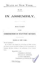 Documents of the Assembly of the State of New York Pdf/ePub eBook