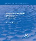 Pdf Augustus to Nero (Routledge Revivals)