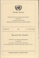 Treaty Series 2277 I:40547-40560