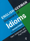 English German Dictionary of Idioms