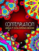 CONTEMPLATION ADULT COLORING BOOKS   Vol  2