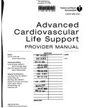 Cover of Advanced Cardiovascular Life Support Provider Manual