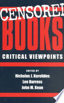 Censored Books, Critical Viewpoints PDF