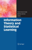 Information Theory and Statistical Learning [Pdf/ePub] eBook