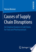 Causes of Supply Chain Disruptions Book
