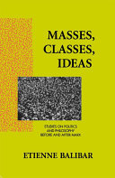 Masses, Classes, Ideas