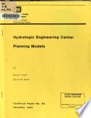 Hydrologic Engineering Center Planning Models
