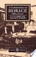 Read Online A Commentary on Horace: Odes, Book II For Free