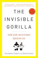The Invisible Gorilla Book Cover