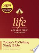 NIV Life Application Study Bible  Third Edition  Hardcover