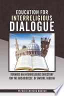 Education for Interreligious Dialogue