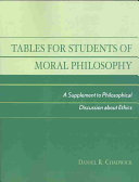 Tables for Students of Moral Philosophy