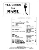 Vocal selections from Mame