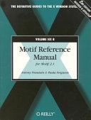Motif Reference Manual for Motif 2.1