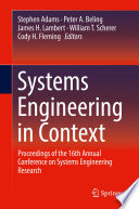 Systems Engineering in Context