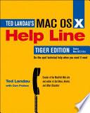 Mac Os X Help Line Tiger Edition
