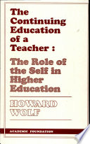 The Continuing Education of a Teacher