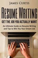 Resume Writing 2016