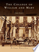 The College Of William Mary Book PDF