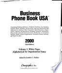 Business Phone Book USA