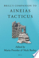 Brill's Companion to Aineias Tacticus