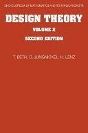 Design Theory  Volume 2