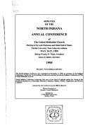 Minutes of the North Indiana Annual Conference of the United Methodist Church