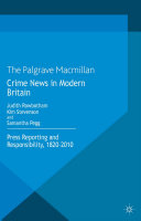 Crime News in Modern Britain [Pdf/ePub] eBook