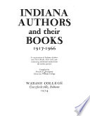 Indiana Authors and Their Books, 1917-1966
