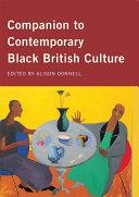 Companion to Contemporary Black British Culture