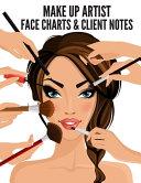 Makeup Artist Face Charts   Client Notebook   Makeup Sketchbook