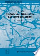 Journal of Biomimetics  Biomaterials and Tissue Engineering