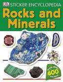 Rocks and Minerals   Sticker Encyclopedia