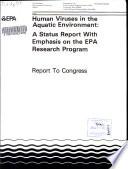 Human viruses in the aquatic environment Book