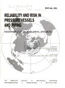 Reliability And Risk In Pressure Vessels And Piping Book PDF