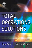 Total Operations Solutions Pdf/ePub eBook